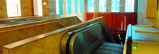 Metronapoli S.p.A. - Linea 1 - Stazione di Salvator Rosa